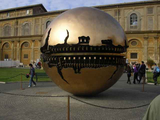 Скульптура Sfera Con Sfera