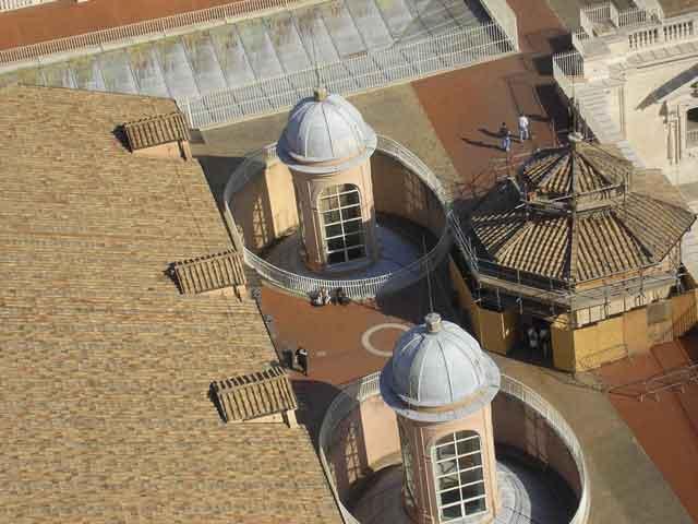 Крыша собора Св. Петра