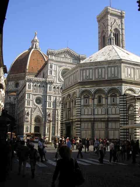 Кафедральный собор и Баптистерий