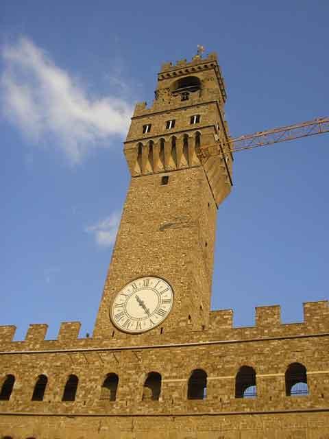 Башня Palazzo Vecchio