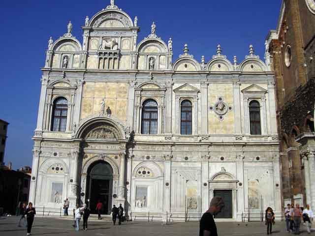 Здание Scuola Grande di San Marco