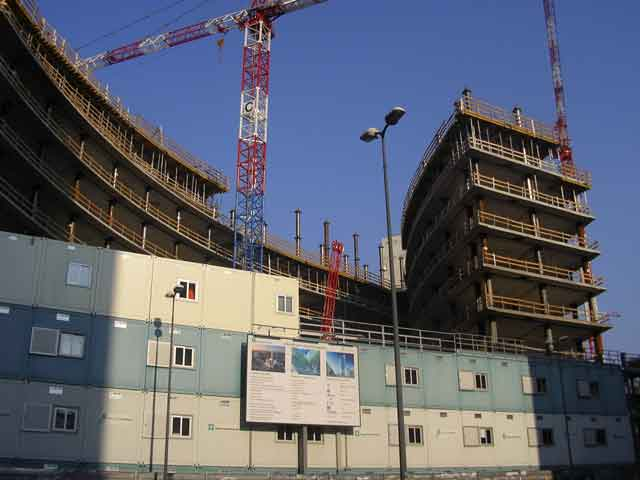 Строительство задания администрации области Ломбардиия