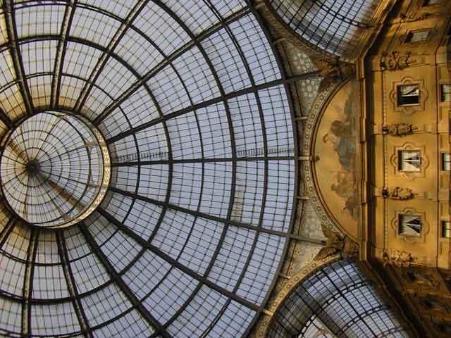 Купол галереи Vittorio Emanuele II