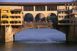 Италия. Флоренция, мост Ponte Vecchio