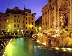 Италия. Рим, фонтан Fontana di Trevi