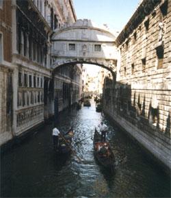 Италия. Венеция, канал